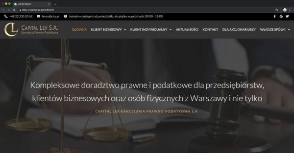 Tworzenie strony firmowej z blogiem. Doradztwo prawne Tworzenie strony firmowej,Tworzenie strony www Tworzenie Strony Firmowej Z Blogiem Doractwo Prawne Webpanda webpanda