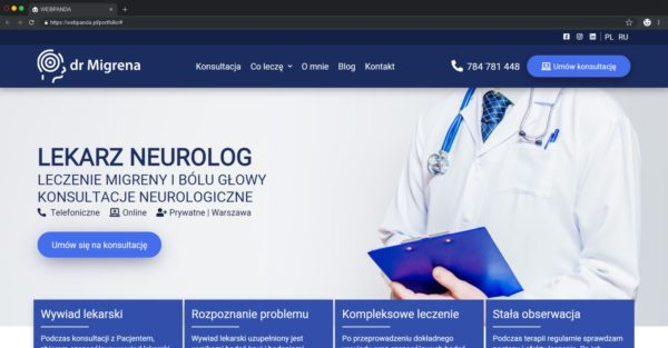 Tworzenie Strony Firmowej Z Blogiem. Praktyka Lekarska